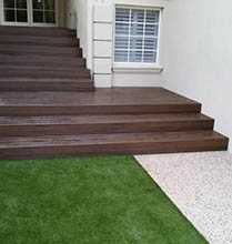 Staircase decking in Applecross