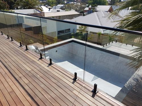 Pool decking and balcony work
