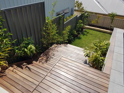 Staircase decking in South Fremantle