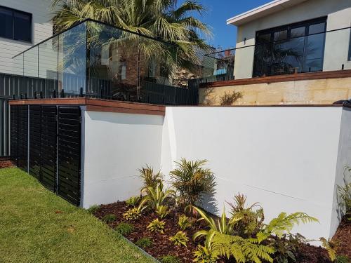 Multi-level landscaping
