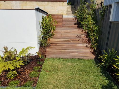 Lawn aeration, care and mowing