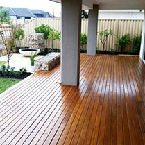 Deck and Alfresco area