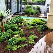 Deck install and pool garden maintenance
